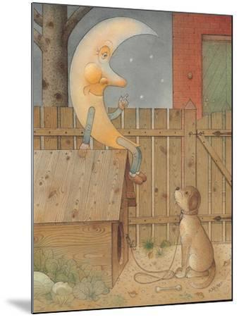 Moon, 2005-Kestutis Kasparavicius-Mounted Giclee Print