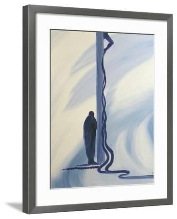 On the Cross Jesus Christ Shed His Precious Blood to Save Us, 1994-Elizabeth Wang-Framed Giclee Print