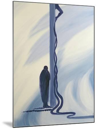 On the Cross Jesus Christ Shed His Precious Blood to Save Us, 1994-Elizabeth Wang-Mounted Giclee Print