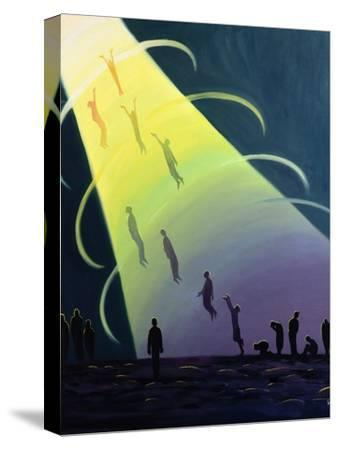 The Souls of Purgatory Rise Towards Heaven as They are Purified, 1995-Elizabeth Wang-Stretched Canvas Print