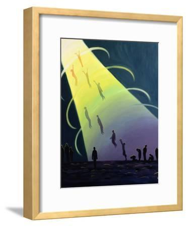 The Souls of Purgatory Rise Towards Heaven as They are Purified, 1995-Elizabeth Wang-Framed Giclee Print