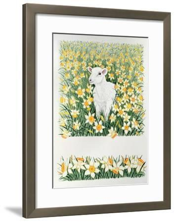 A Spring in the Step-Pat Scott-Framed Giclee Print