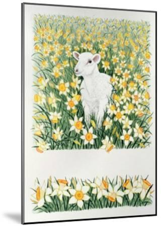 A Spring in the Step-Pat Scott-Mounted Giclee Print