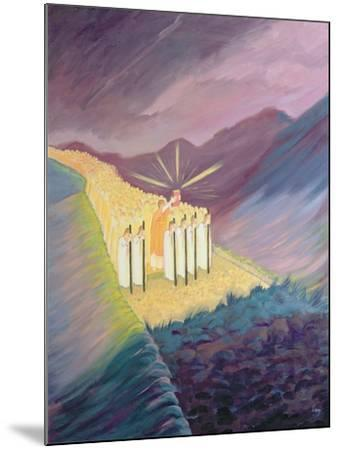 We Walk in the Sacred Tradition, Guided by the Bible and the Teaching of the Church, 1995-Elizabeth Wang-Mounted Giclee Print
