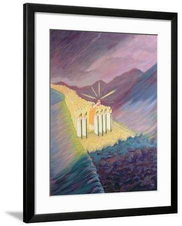 We Walk in the Sacred Tradition, Guided by the Bible and the Teaching of the Church, 1995-Elizabeth Wang-Framed Giclee Print