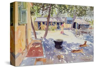 Sunday at the Boy's Home, 1991-Lucy Willis-Stretched Canvas Print