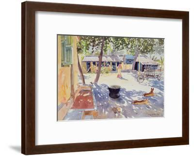 Sunday at the Boy's Home, 1991-Lucy Willis-Framed Giclee Print