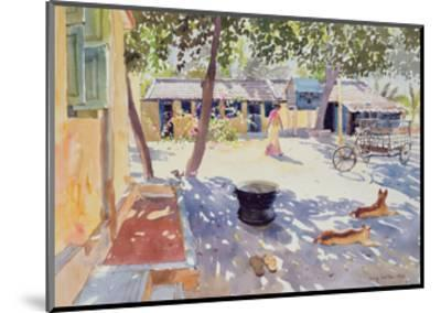 Sunday at the Boy's Home, 1991-Lucy Willis-Mounted Giclee Print
