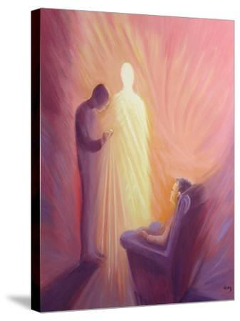 Jesus Christ Comes to Us in Holy Communion When We are Sick or Housebound, 1993-Elizabeth Wang-Stretched Canvas Print