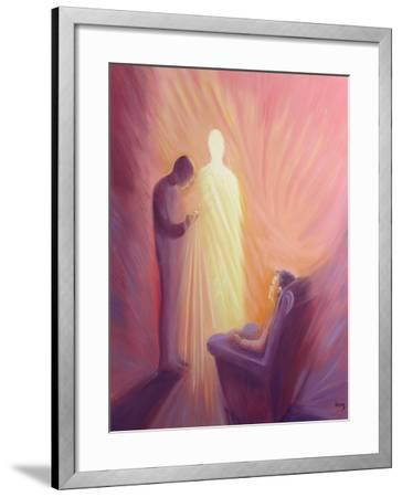 Jesus Christ Comes to Us in Holy Communion When We are Sick or Housebound, 1993-Elizabeth Wang-Framed Giclee Print