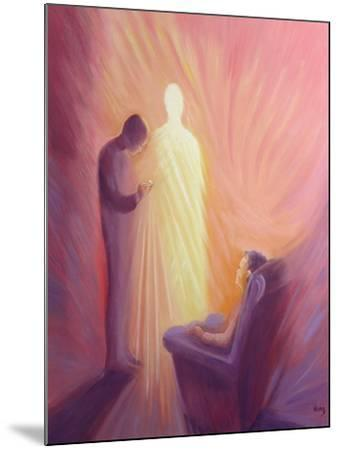 Jesus Christ Comes to Us in Holy Communion When We are Sick or Housebound, 1993-Elizabeth Wang-Mounted Giclee Print