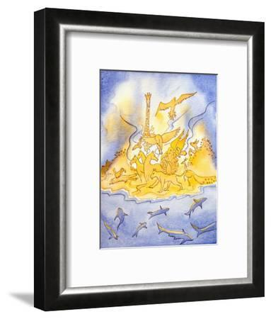 God Saw That His Creation Was Good and Continues to Care for It, 2004-Elizabeth Wang-Framed Giclee Print
