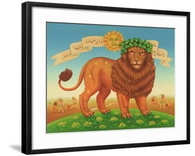 Leo, 1989-Frances Broomfield-Framed Giclee Print