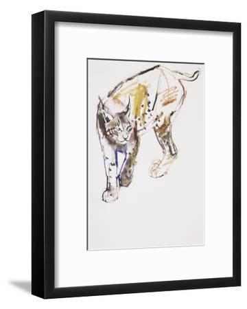 European Lynx-Mark Adlington-Framed Giclee Print