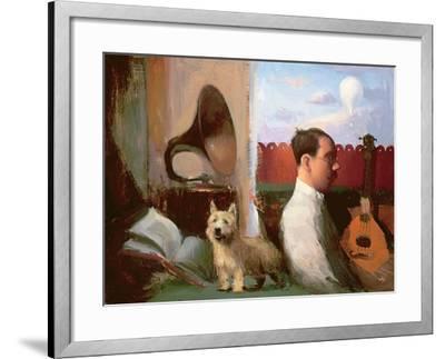 Mozart's Mandolin, 1999-2003-Alan Kingsbury-Framed Giclee Print