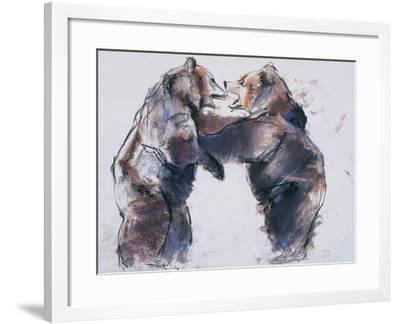 Playfight, 2001-Mark Adlington-Framed Giclee Print