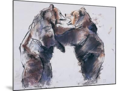 Playfight, 2001-Mark Adlington-Mounted Giclee Print