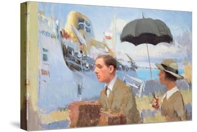 Arrival of the Scillonian, 2003-Alan Kingsbury-Stretched Canvas Print