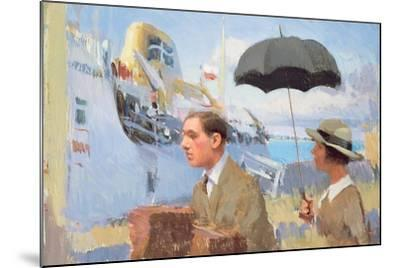 Arrival of the Scillonian, 2003-Alan Kingsbury-Mounted Giclee Print