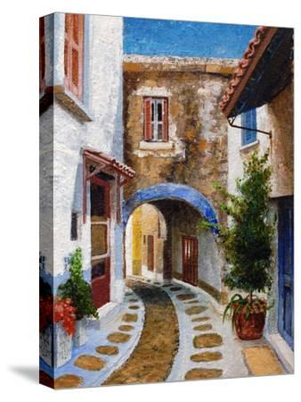 Lefkimi, Corfu, 2006-Trevor Neal-Stretched Canvas Print