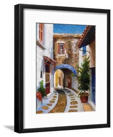 Lefkimi, Corfu, 2006-Trevor Neal-Framed Giclee Print