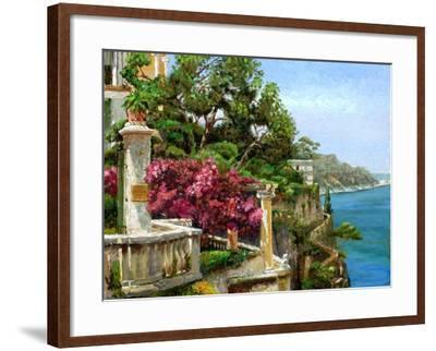 Serene Sorrento, 2006-Trevor Neal-Framed Giclee Print