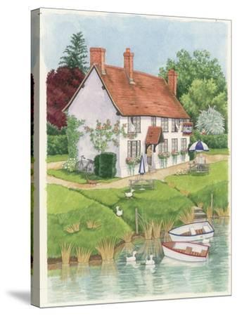 The Boat Inn, 2003-Linda Benton-Stretched Canvas Print