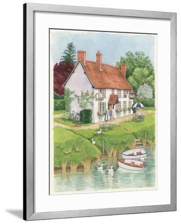 The Boat Inn, 2003-Linda Benton-Framed Giclee Print