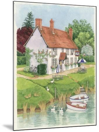 The Boat Inn, 2003-Linda Benton-Mounted Giclee Print