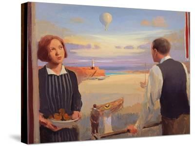 From a Balcony, 2004-05-Alan Kingsbury-Stretched Canvas Print