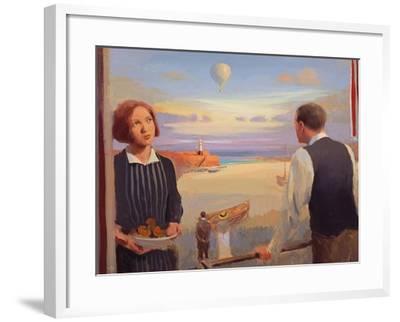 From a Balcony, 2004-05-Alan Kingsbury-Framed Giclee Print