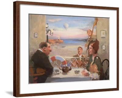 Tea Dancing, 2004-Alan Kingsbury-Framed Giclee Print