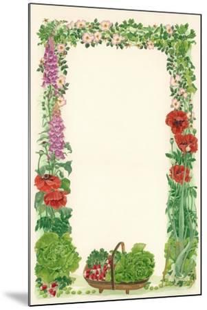 June, 1993-Linda Benton-Mounted Giclee Print