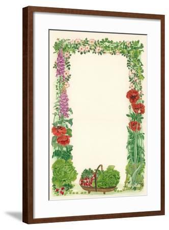 June, 1993-Linda Benton-Framed Giclee Print