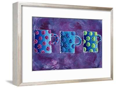 3 Mugs, 2004-Julie Nicholls-Framed Premium Giclee Print