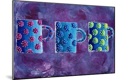 3 Mugs, 2004-Julie Nicholls-Mounted Premium Giclee Print