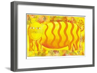 Cheshire Cat, 1998-Julie Nicholls-Framed Giclee Print