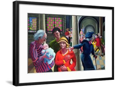 Presentation in the Temple, 1996-97-Dinah Roe Kendall-Framed Giclee Print