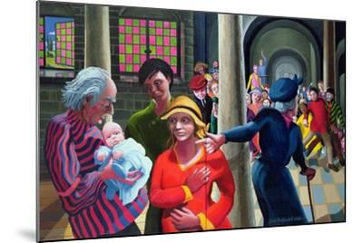 Presentation in the Temple, 1996-97-Dinah Roe Kendall-Mounted Giclee Print