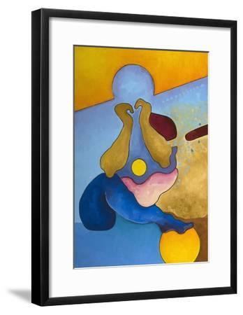 Boy, Age 14, Contemplating His Future, 2008-Jan Groneberg-Framed Giclee Print