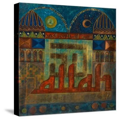 Tazamia, 2008-Sabira Manek-Stretched Canvas Print