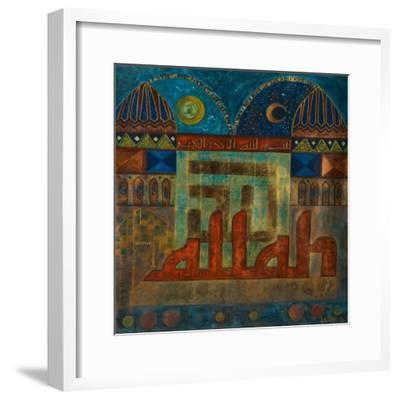 Tazamia, 2008-Sabira Manek-Framed Giclee Print