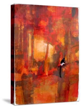Delacour's Langur, 2008-Charlie Baird-Stretched Canvas Print