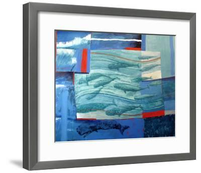 About 120 Western Grey Whales-Charlie Baird-Framed Giclee Print