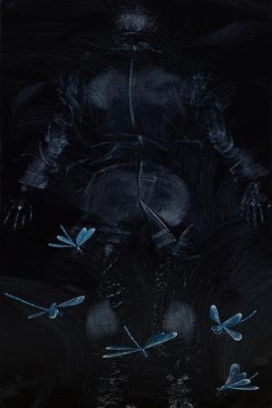 Fall: Damsel Flies, 2008-Richard Pomeroy-Framed Giclee Print