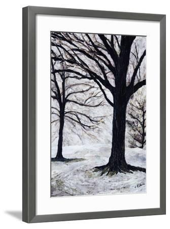 Winter Trees, Greenwich Park, 2004-Ellen Golla-Framed Giclee Print