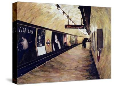 All Trains Go to King's Cross St Pancras, 2004-Ellen Golla-Stretched Canvas Print