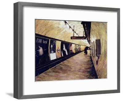 All Trains Go to King's Cross St Pancras, 2004-Ellen Golla-Framed Giclee Print