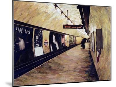 All Trains Go to King's Cross St Pancras, 2004-Ellen Golla-Mounted Giclee Print