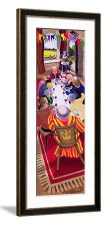 Detail of Triptych of the Prodigal Son's Return, 2005-Dinah Roe Kendall-Framed Giclee Print